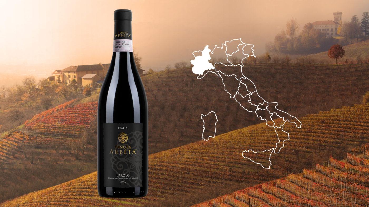 Barolo Wine Tenuta Arbéta