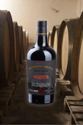 Primitivo wine signature collection